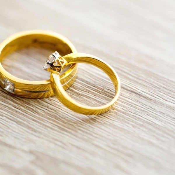 טבעות חצי נישואין